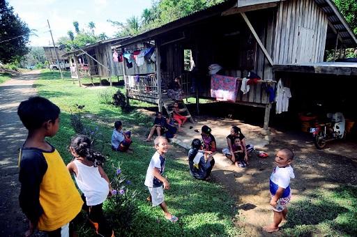 Felda Malay Settler - First Generation House