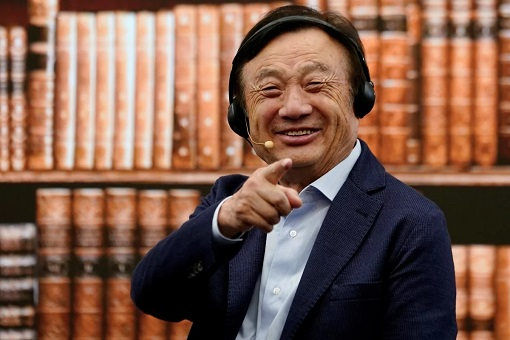 Huawei Founder and CEO Ren Zhengfei - Laugh