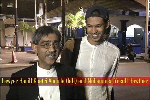 Lawyer Haniff Khatri Abdulla and Muhammed Yusoff Rawther