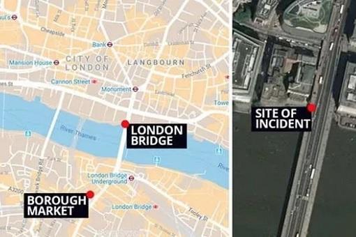 London Bridge Terrorism - Map
