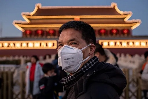 Coronavirus - People Wearing Mask in Beijing