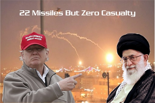 Iran Attacks US Military Base - 22 Missiles But Zero Casualty