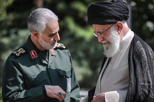 Iran Top General Qassem Soleimani - Ayatollah Ali Khamenei