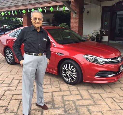 Mahathir Mohamad - Proton Perdana