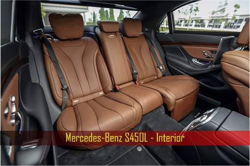 Mercedes-Benz S450L - Interior