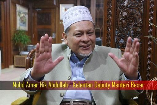 Mohd Amar Nik Abdullah - Kelantan Deputy Menteri Besar