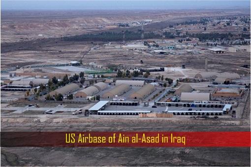 US Airbase of Ain al-Asad in Iraq