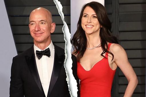 Jeff Bezos and McKenzie - Divorced