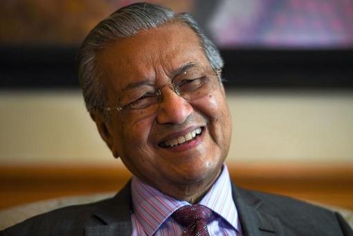 Mahathir Laughing