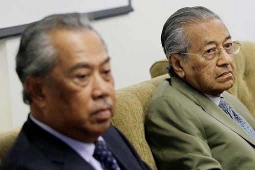 Mahathir Mohamad and Muhyiddin Yassin - Dispute