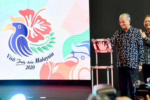 Visit Malaysia Year 2020 - Mahathir Officiated
