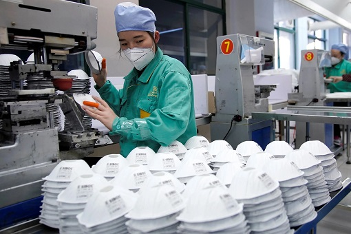 China Face Mask Production Factory