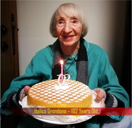 Coronavirus - Italica Grondona – 102 Years Old