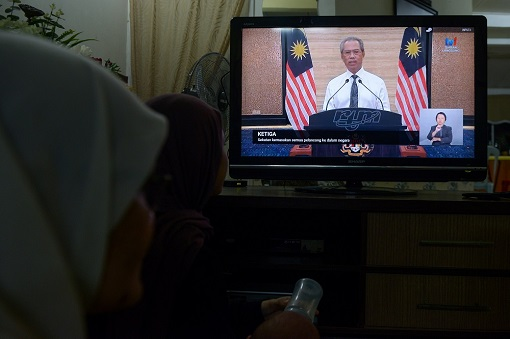 Coronavirus - Malaysia Lockdown - Muhyiddin Yassin Announcement