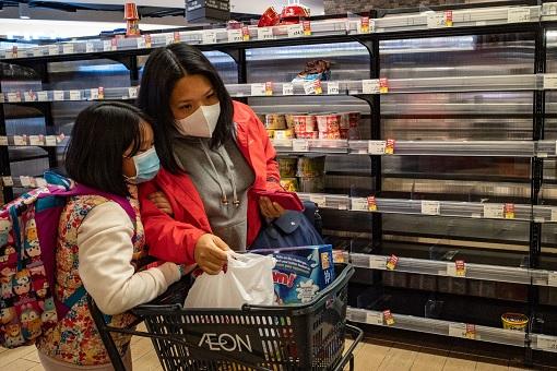 Coronavirus - Malaysia Lockdown - Panic Buying - Empty Shelves