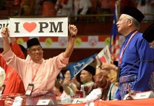 Muhyiddin Yassin - I Lover PM - Najib Razak