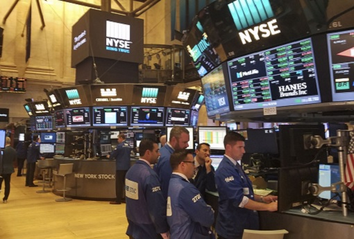NYSE New York Stock Exchange Trading Floor