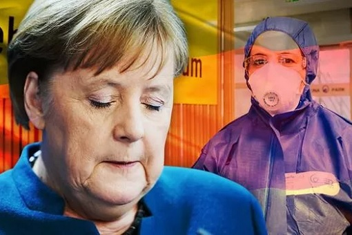 Coronavirus - German Chancellor Angela Merkel