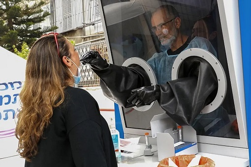 Coronavirus - Israel - Taking Example for Covid-19 Testing