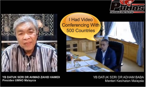 Coronavirus - Video Conferencing with 500 Countries - Zahid Hamidi and Adham Baba