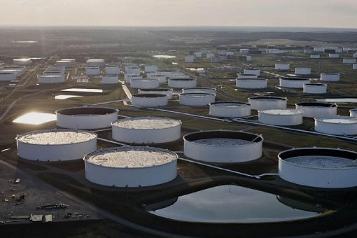 Crude Oil - Cushing Oklahoma Oil Hub Storage