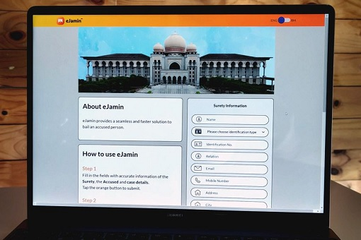 E-Jamin Bail Payment System