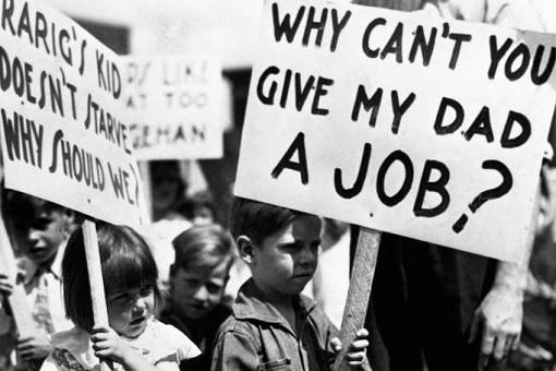 Great Depression 1929 - Unemployment