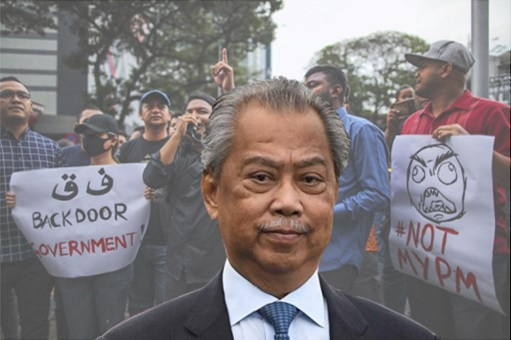 Muhyiddin Yassin - Backdoor Government, Not My PM