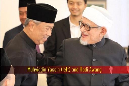 Muhyiddin Yassin and Hadi Awang