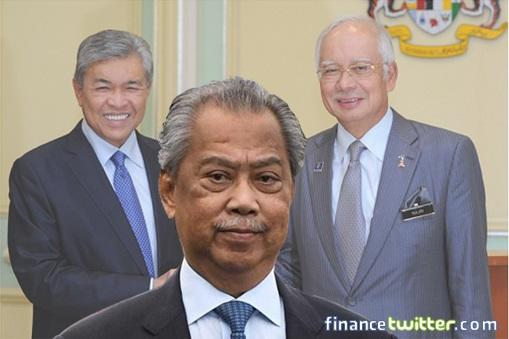 Puppet Regime - Zahid Hamidi and Najib Razak - Blackmail Muhyiddin Yassin