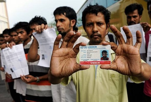 Rohingya Illegal Immigrants - UNHCR