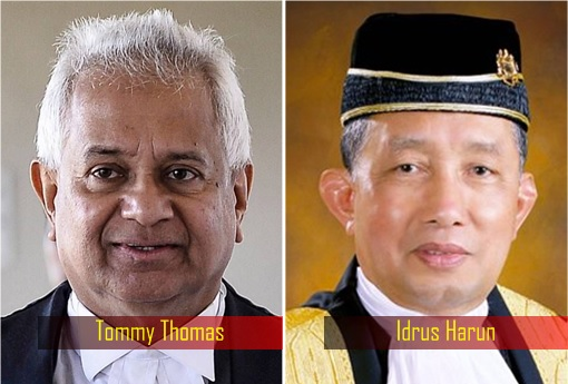Attorney General - Tommy Thomas and Idrus Harun