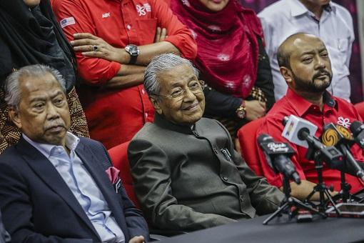 Bersatu PPBM - Muhyiddin, Mahathir and Mukhriz