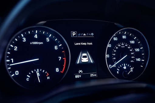 Car Warranty - Hyundai Dashboard