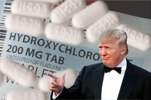 Trump Promotes Hydroxychloroquine Drug As If They Are Vitamin Supplements - And That Could Kill Many Americans