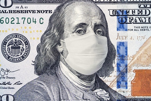 Coronavirus - US Dollar - Face Mask