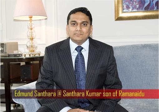 Edmund Santhara alias Santhara Kumar son of Ramanaidu