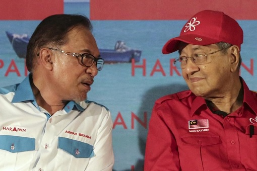 Anwar Ibrahim and Mahathir Mohamad - Who Will Be The New Prime Minister