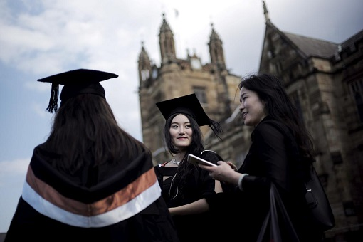 Australia Education - University Students from China
