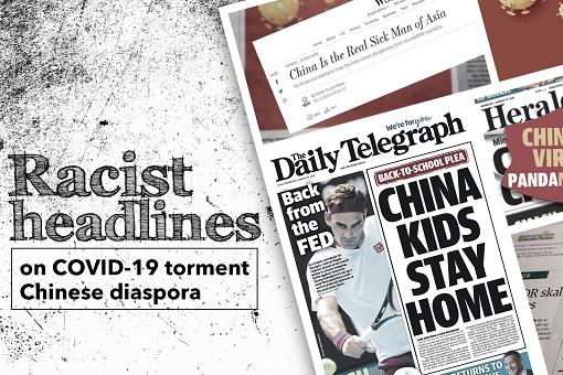 Coronavirus - Australia Racist News Headlines - China Kids Stay Home