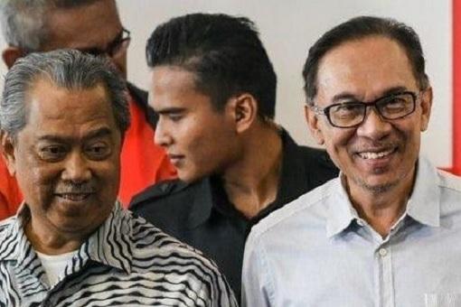 Muhyiddin Yassin and Anwar Ibrahim