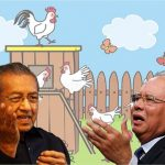 UMNO-Malay Crooks Stealing Chickens - Why Didn't Najib Expose Or Charge Mahathir Families In 22 Years?