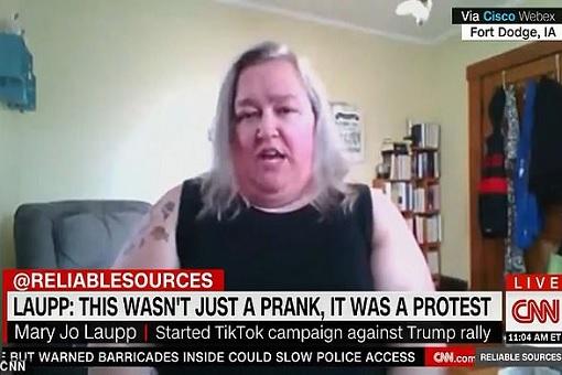 TikTok Protest Against Trump Rally - Mary Jo Laupp