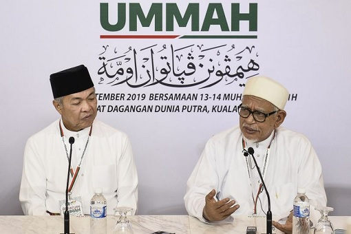 UMNO PAS Alliance - Zahid Hamidi and Hadi Awang