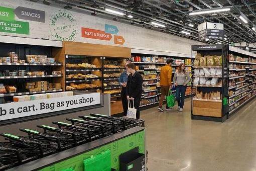 Amazon Smart Dash Cart - Store