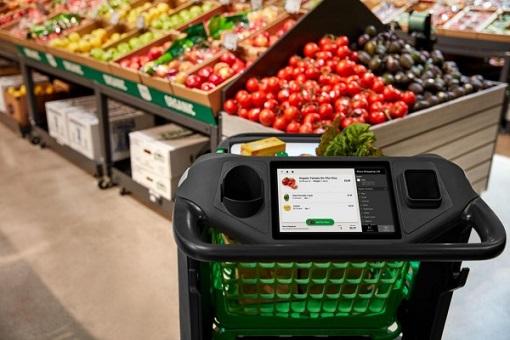 Amazon Smart Dash Cart - Touchscreen Alexa Shopping List