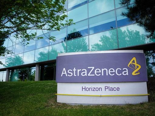 Coronavirus - British AstraZeneca Building