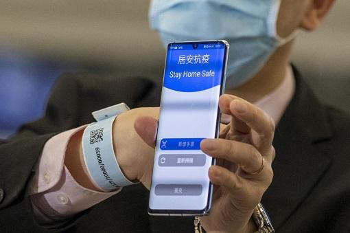 Coronavirus - Hong Kong Covid-19 - Quarantine Tracking Bracelet