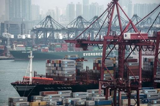 Coronavirus - Hong Kong Covid-19 - Sea Port