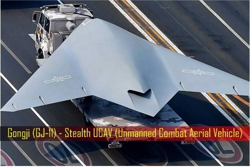 Gongji GJ-11 - Stealth UCAV Unmanned Combat Aerial Vehicle